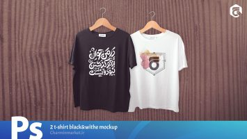 2-t-shirt-blackwithe-mockup